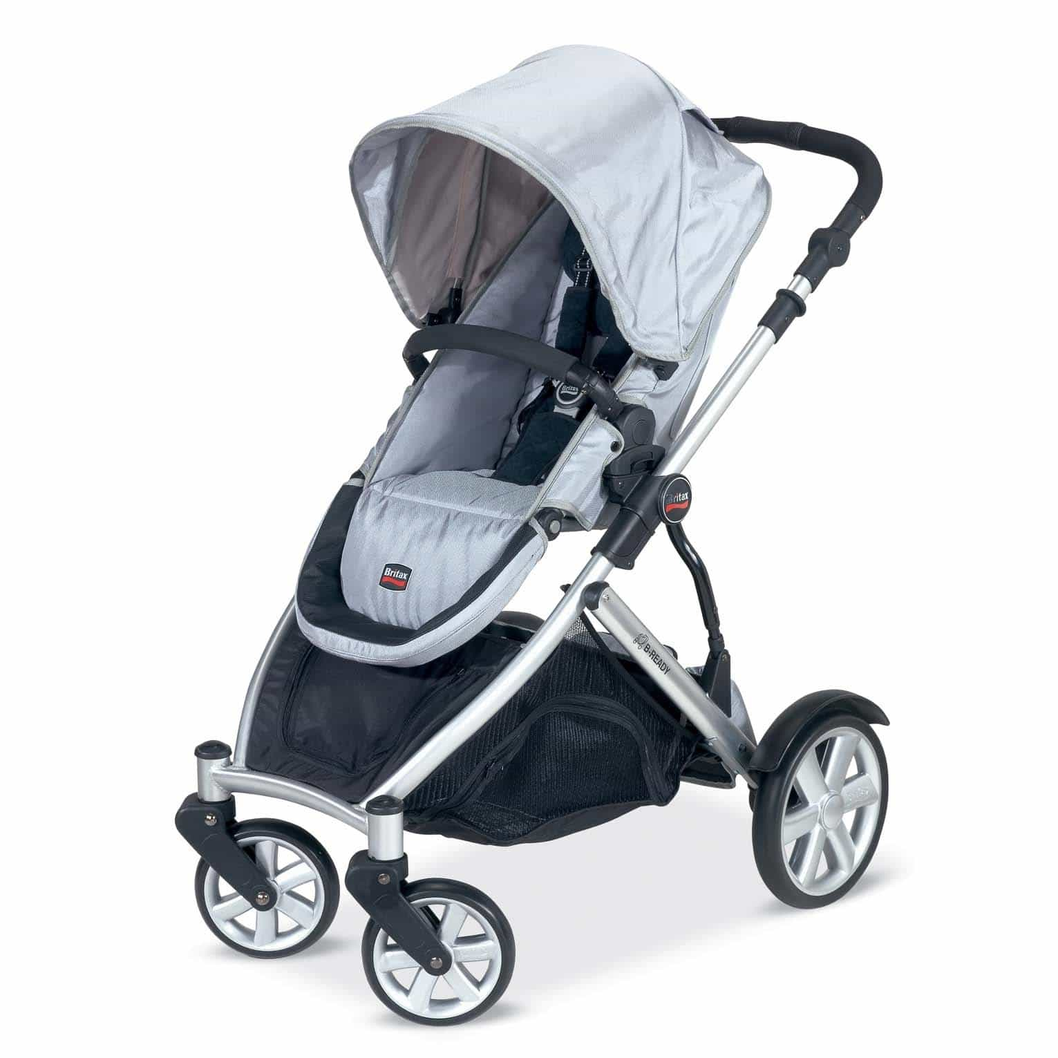 My new stroller love: The Britax B-Ready.