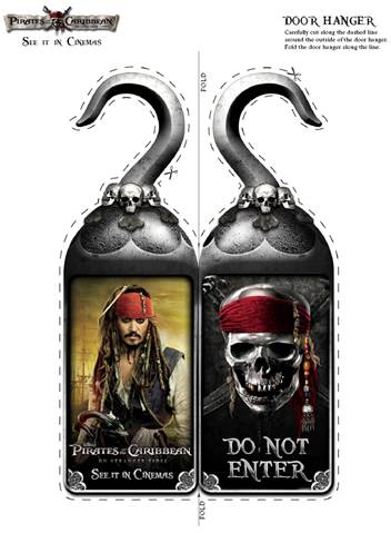 Pirates of the Caribbean hook