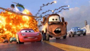 Lightening McQueen and Mater