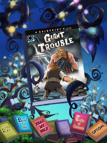 {review} Have you seen Giant Trouble,  an eBook from SkyReader Media?