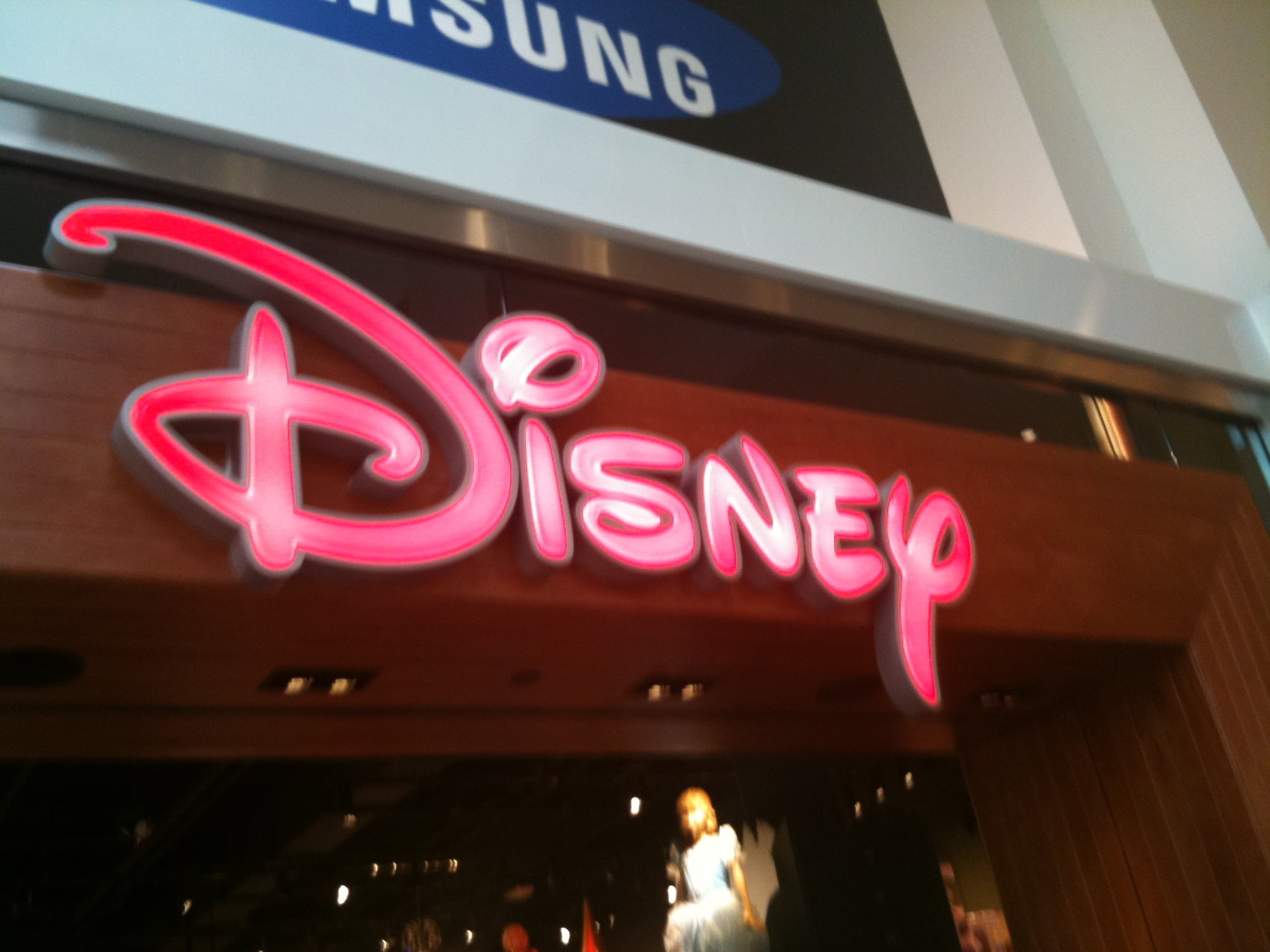 The Disney Store opened at Southcenter Mall…