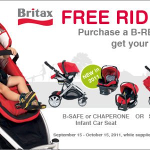 Britax, carseat, B-ready