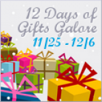 12 Days of Gifts Galore Sponsor List Sneak Peek