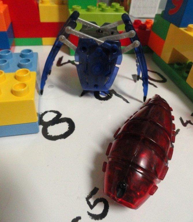 HEXBUG Shenanigans! #robots #review