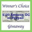 Winner's Choice! $100 Paypal or Amazon CASH! {ends 11/1}
