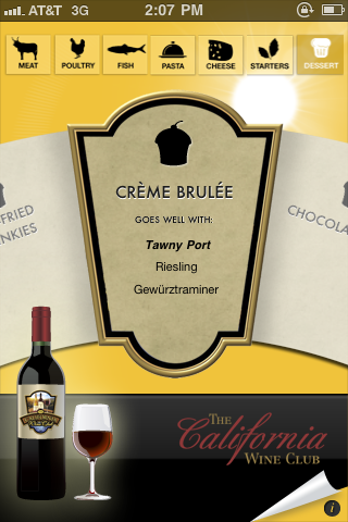 Need help choosing a wine? Check out the CWC food and wine pairing wheel!