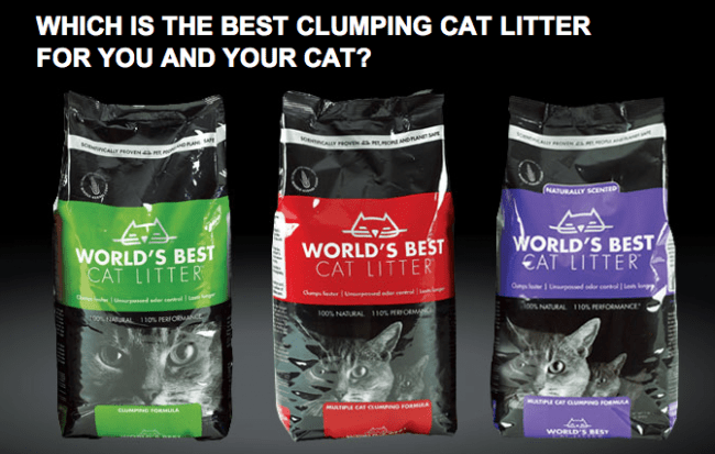 Three Formulas of World's Best Cat Litter