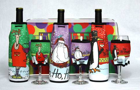 Woozies, wine glass sleeve