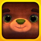 The Beary HappiTaps App may just be the cutest thing ever.