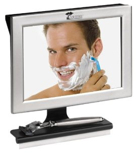 Have you seen this Fogless Shower Mirror? Awesome.