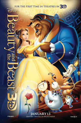 Get your Beauty and the Beast Coloring Pages HERE