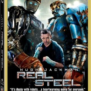 Real Steel hits Blu-ray™, DVD, Digital and On-Demand January 24, 2012 {press release}