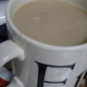 A big cup of tea