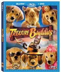 Treasure Buddy Blu-Ray-DVD