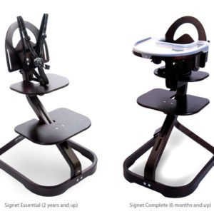 The Signet High Chair will grow with your family.