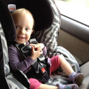 Why I am keeping Quincy rearfacing in her Britax Advocate and other car seat safety tips.