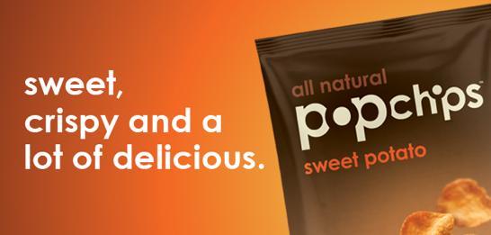 sweet potato popchips