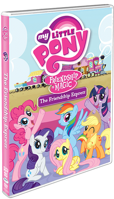 MY LITTLE PONY FRIENDSHIP IS MAGIC: THE FRIENDSHIP EXPRESS – on DVD TODAY!!