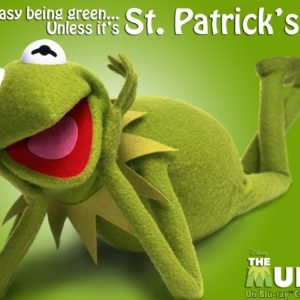 Happy St. Patrick's Day! Kermit style!
