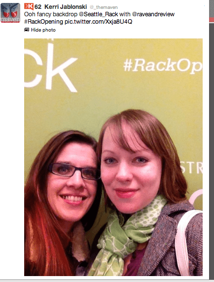 The Nordstrom Rack opens it's doors at Westlake Center on 3/15 #RackOpening