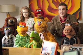 The Muppets are on Blu-Ray and DVD TODAY!!!