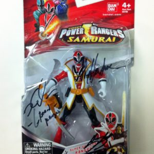 red ranger action figure