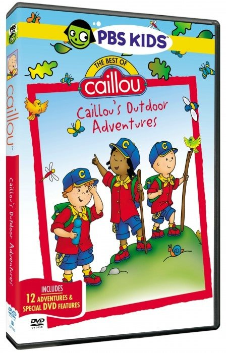 Does your little one love Caillou?