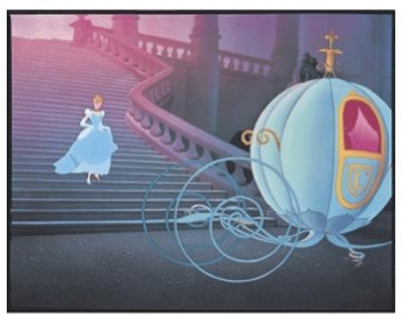 Disney & Christian Louboutin Celebrate Cinderella! | I am ...  Cinderella Running Away From The Ball
