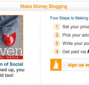 Got blog? Earn money doing sponsored posts with Social Spark.