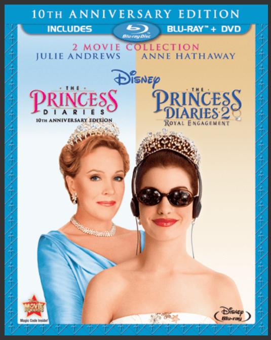 Pick up the Princess Diaries & Princess Diaries 2 on Blu-Ray + DVD today!