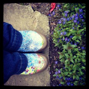 Loving my new Dansko shoes!