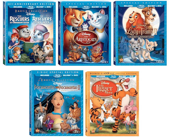 The latest Disney movies to hit Blu-Ray