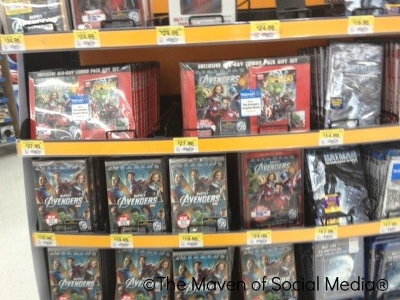 avengers blu-ray/dvd