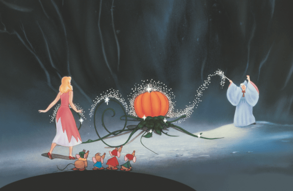 It's a celebration!! Bippity Boppity Boo! Cinderella available on Blu-Ray on 10/2