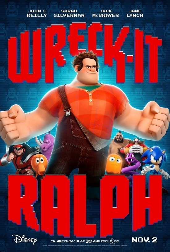 Wreck It Ralph Halloween fun! Games, stencils and more!