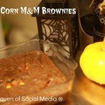 Candy Corn M&M Brownies