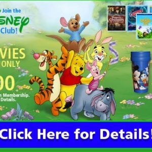 Get 4 Disney Movies for $1 + Free Shipping