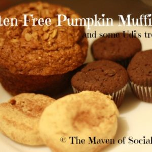 The perfect gluten-free pumpkin muffin!