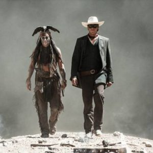 THE LONE RANGER gallops into theaters on July 3, 2013!