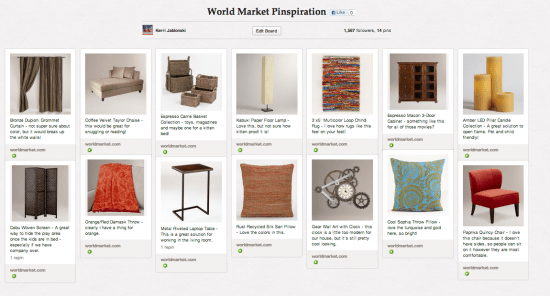 World Market Pinspiration