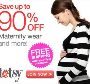 Save up to 90% on kid's clothing, maternity & more!