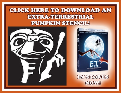 Celebrate Halloween with your favorite Extra-Terrestrial!