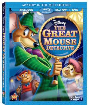 The Great Mouse Detective now available on Blu-Ray & HD Digital!