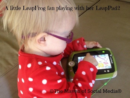 Educational fun continues with the LeapPad2!