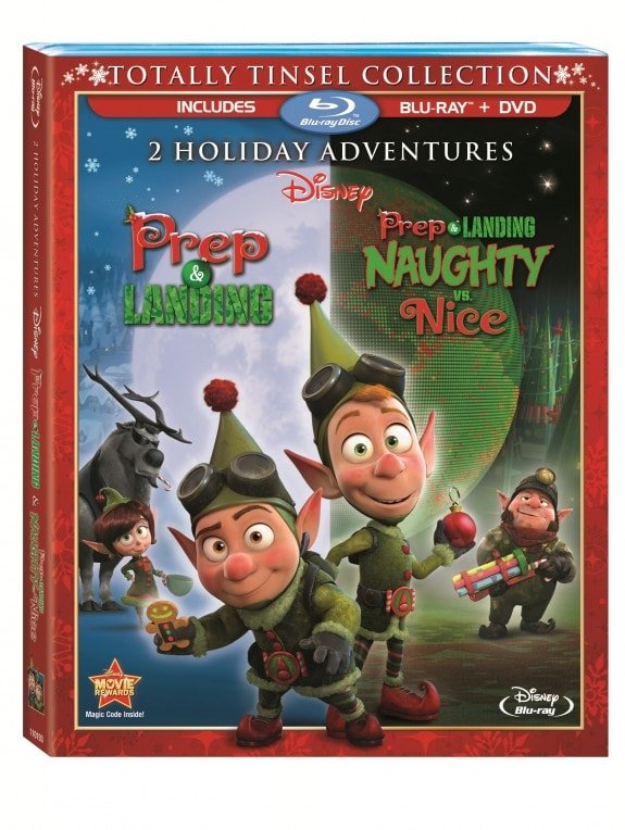 Disney's Prep and Landing on Blu-Ray and DVD Combo Pack