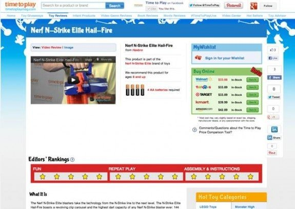 Meet your newest holiday helper – the TimetoPlayMag.com Price Comparison Tool