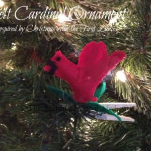 Betty Ford's Clothespin Cardinal #NGFirstLadies
