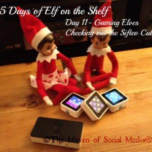 25 Days of Elf on the Shelf – Day 11 #elfontheshelf
