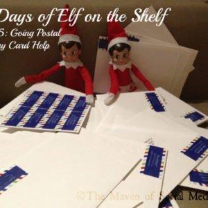 25 Days of Elf on the Shelf – Day 15 #elfontheshelf