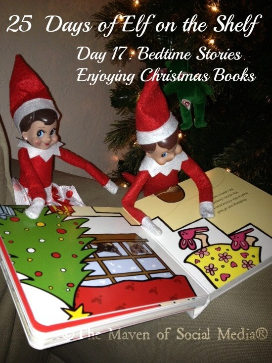 25 Days of Elf on the Shelf – Day 17 #elfontheshelf